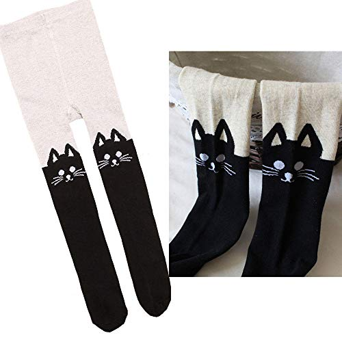 hhalibaba Süße lila Schwarze Katze Kätzchen Kitty Kostüme für Mädchen Kind Phantasie Halloween Karneval Party Neujahr Dress Up (Mädchen Kitty Katze Kostüm)