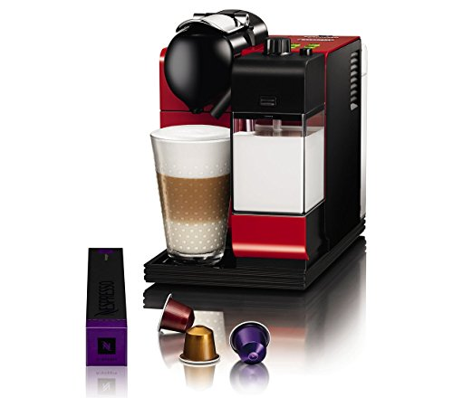NespressO Lattissima+ CoffeE MachinE bY De'Longhi – ReD