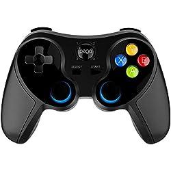 Sensecrol Ninja PG-9157 Manette de Jeu sans Fil Android Fonctionne avec Bluetooth, Manette de Jeu Android Compatible avec téléphone Android/Tablette/Set-Top Box