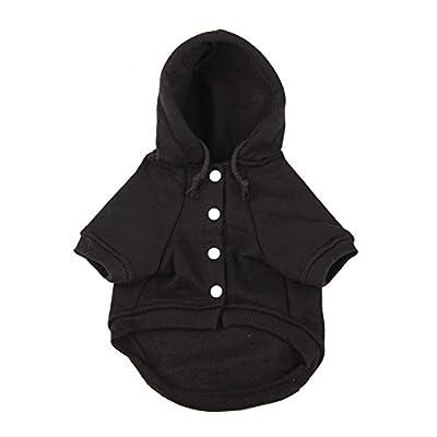 Dimart Comfortable Fleece Pet Dog Sweatshirt Warm Coat Puppy Hoodie Apparel Costumes Clothes