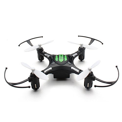 Eachine H8 Mini Headless Stationary 2.4G 4CH 6 Axis Nano RC Quadcopter RTF Wake up to 2 (Moonless) by Eachine