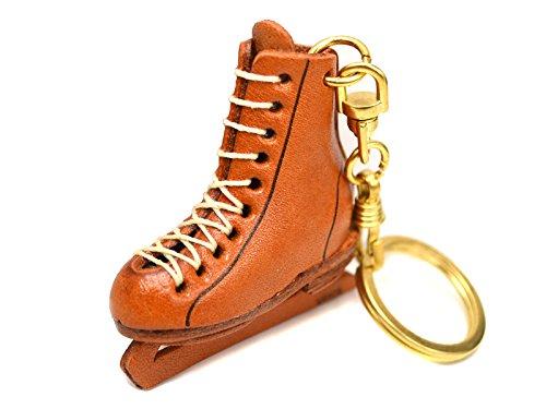 Eiskunstlauf Schuh Leder Sport KH (L) Schlüsselanhänger Vanca craft- Made in Japan # 56903