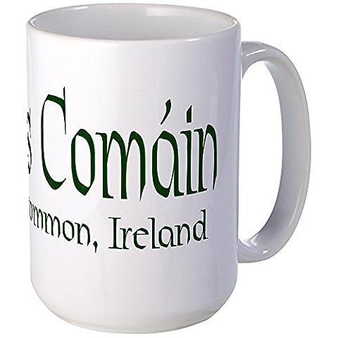 CafePress - Roscommon (Gaelic) - Coffee Mug, Large 15 oz. White Coffee Cup