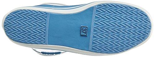 Aigle Malouine Bt, Bottes de Pluie Femme Bleu (Onde)