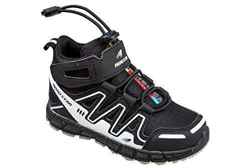 gibra, Sneaker bambini Nero (nero/bianco)