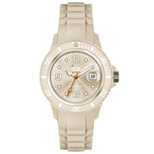 Ice-Watch - SP.SI.CRB.U.S.15 - Montre Mixte - Quartz - Analogique - Bracelet Silicone Beige