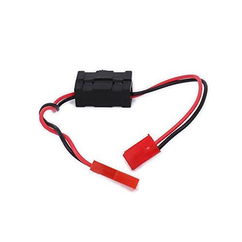 RCAWD Allumer et éteindre la batterie du récepteur avec la...