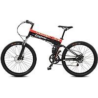 GTYW, Eléctrico, Plegable, Bicicleta, Montaña, Bicicleta, Ciclomotor Adulto, 70KM