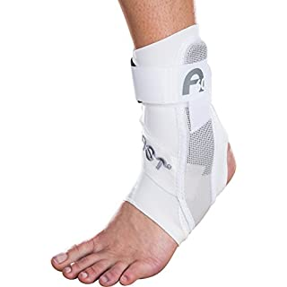 Aircast A60 Ankle Brace White Left Medium