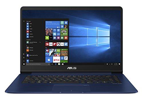 Asus Zenbook UX530UX-FY064T 39,6 cm (15,6 Zoll FHD matt) Ultrabook (Intel Core i7-7500U, 8GB RAM, 512GB, NVIDIA GTX 950M, Win 10) blau