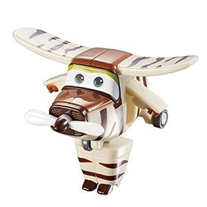 Alpha Animation & Toys- Super Wings YW710070 Mini Transform a Bots Bello Plane, marrón, Color Blanco (