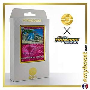 Azuramill 136/214 Holo Reverse - #myboost X Soleil & Lune 8 Tonnerre Perdu - Box de 10 Cartas Pokémon Francés