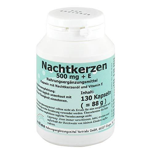 NACHTKERZEN 500 mg+E Kapseln 130 St Kapseln