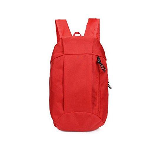HTRPF Art und Weise einfache Kursteilnehmer-Segeltuch-Schulter-Minitasche Red