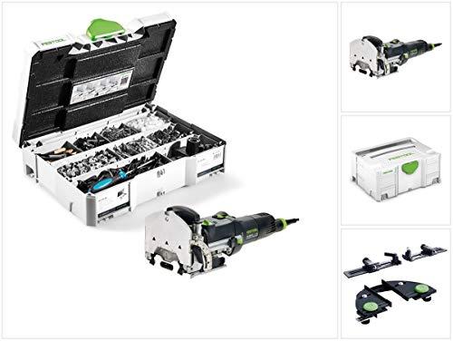 Df 500 Domino (Festool DF 500 Q-Plus Dübelfräse Domino 420W 28mm im Systainer (494847) + Zubehör)