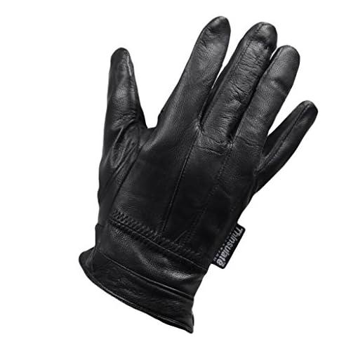 Ladies Fleece Lined Designer Leather Driving Glove Seamed Design Button Fasten Coloured Leather Glove