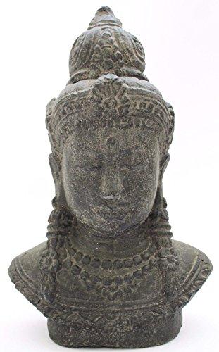 xl buddha thai buddha guardiano del tempio t?te 35?cm statua in pietra in pietra feng shui giardino