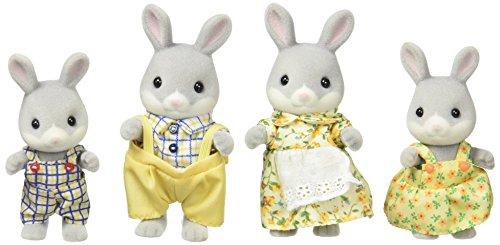 Sylvanian Families - Familia conejos cotón (Epoch para Imaginar 4030)