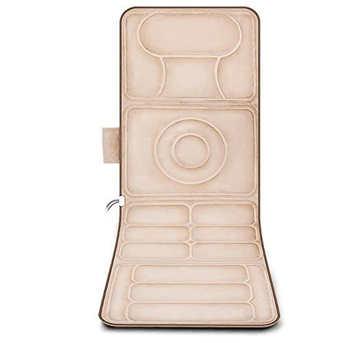 Massage-Matratze - Kissen - Multifunktions-Body-Neck-Taille Schulter- und Rückenmassage-Kissen - Familien-Massage-Matratze zur Behandlung von Muskelschmerzen