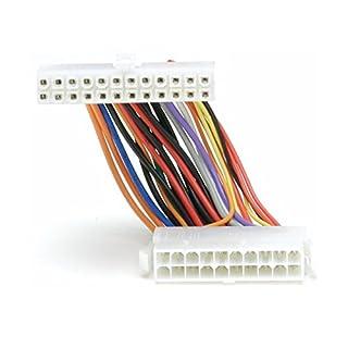 adaptare 35001 ATX-Adapter-Kabel von 20-Polig Netzteil-Stecker auf 24-Polig Mainboard-Anschluss Mehrfarbig