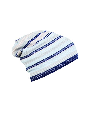 Dale of Norway Erwachsene Hut Vinje Hat, Navy/Beige/Off White, One Size, 40010-D-01 -