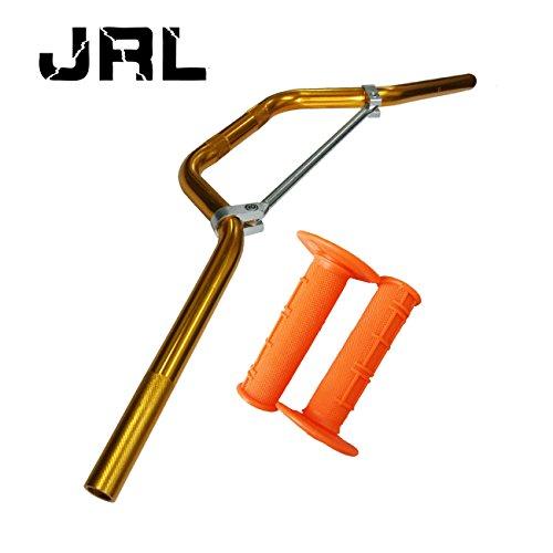 """22mm 7/8 """"Griff Bar & Handgriff für Pit Dirt Trail Bike Thumpstar Quad Bike ATV Orange"""