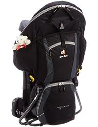 Deuter Kid Comfort 3 - Portabebés (Backpack carrier, Negro, Nylon, Poliéster, Polytex, Front pocket, Side pocket)