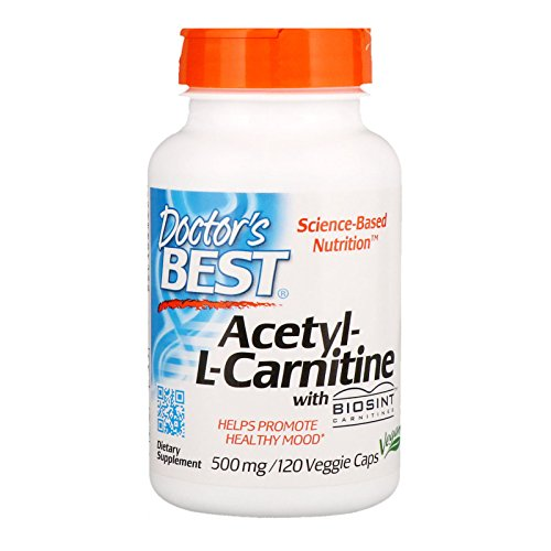 DOCTOR`S BEST ALC HCl 120 kapsules, 500 mg
