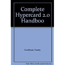 COMPLETE HYPERCARD 2.0 HANDBOO