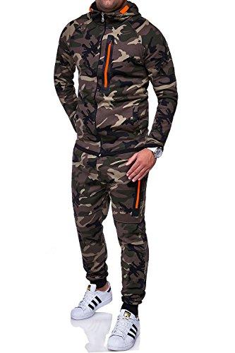 MT Styles Trainingsanzug HARLEM Sporthose TR-5037 [Khaki, XL]