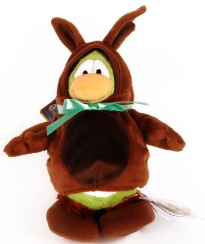Disney Club Penguin Series 7 Bunny Costume With Gold - Penguin Club Halloween