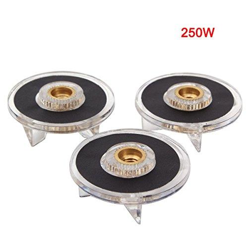 UNIQUEBELLA Ersatzteile für Magic Bullet, 3pcs Basis Getriebe für 250w Magic Bullet Blender Saftmischer