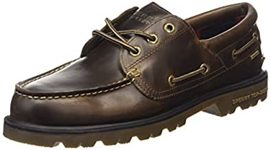 Sperry Top Sider A/o Lug 3-eye Wp, Chaussures bateau Homme - Marron (brown), 41.5 EU