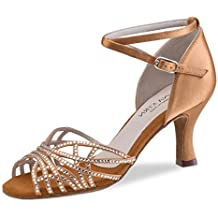 check out 3ef88 498fa scarpe eleganti donna bronzo - Ammissibili di ... - Amazon.it