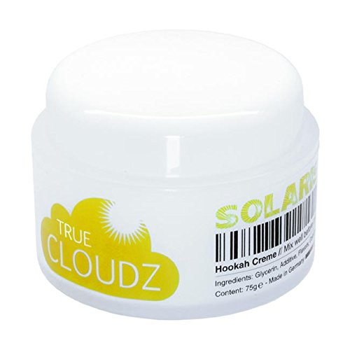 True Cloudz - Solaris / 75g Tabakersatz Shisha Hookah Creme rauchen