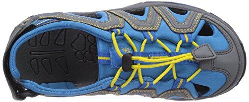 Jack Wolfskin Little Pirate Sandal K, Sandales sport et outdoor mixte enfant Bleu - Blau (brilliant blue 1152)