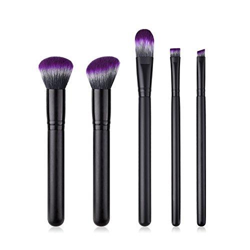 Wicemoon Pinceaux Maquillage Cosmétique Professionnel Poignée en Bois Makeup Brushes Cosmétique Brush pour Produits de Toute Consistance