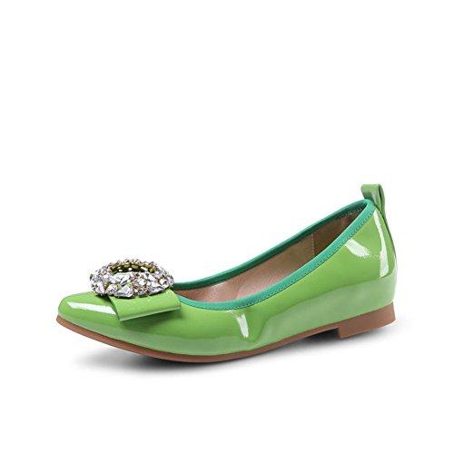 chaussures de mode de printemps/Chaussures plates pointues Asakuchi/Shoes coréennes de Joker sucrés C