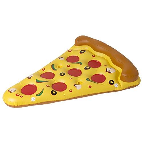 Gonfiabile - piscina - materasso ad aria - perfetto per le vacanze - accattivante (Pizza)