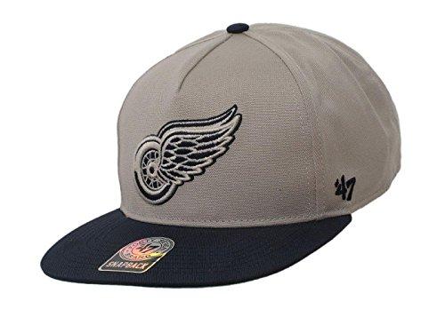 47 Brand NHL Eishockey Baseball Cap Kappe Strickmütze (Artikel Nr. 45-60) (NHL - Detroit Red Wings - Nr. 54)