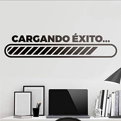 (Mhdxmp)Wandaufkleber Motivzitat In Spanisch