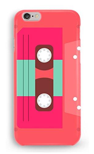 Funda Carcasa Cinta Cassette Retro Casete para Samsung Galaxy J3 2017 plástico rígido