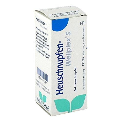 HEUSCHNUPFEN Weliplex S Tropfen zum Einnehmen 50 ml Tropfen zum Einnehmen