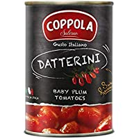 Coppola Datterini, Tomates Datterini - Sin sal añadida 400g (Caja de 12)