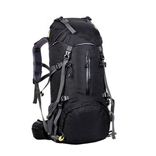 Preisvergleich Produktbild KYFW Großes Outdoor Fahrrad Klettern Auf Fuß Reisen Camping Ski Breathable Nylon Rucksack, B-30*20*60cm-36-55L