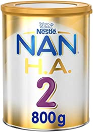 Nestle NAN H.A. Stage 2, From 6 to 12 months, Hypoallergenic Follow-up Formula Fortified with Iron, 800g