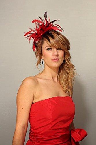 Maighread Stuart Millinery - Bandeau - Femme Multicolore - Rouge/marron