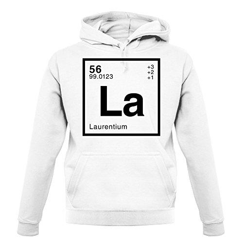 Laurent - Élément Périodique - Unisex Pull - Blanc - M