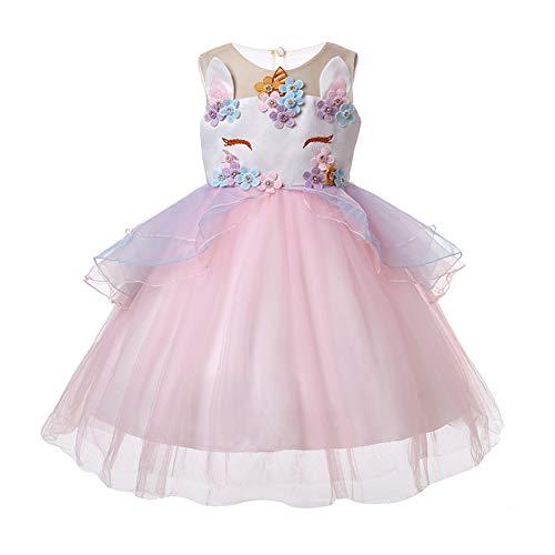 Party Kleid Blume Rüschen Cosplay Geburtstag Prinzessin Kleid ()