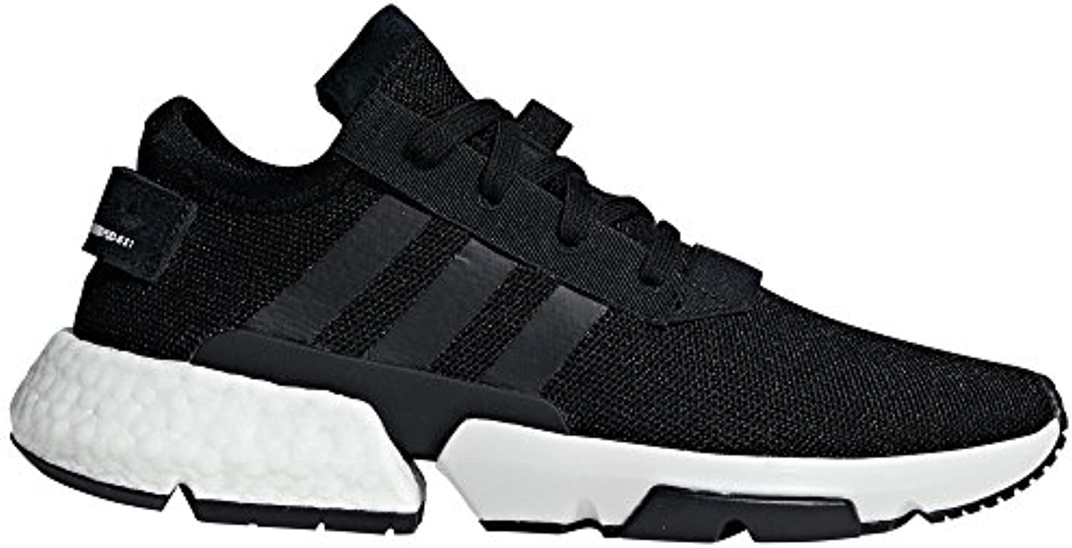 Adidas POD-S3.1 Negra. Zapatillas Deportivas para Hombre. Sneaker. Point of Deflection Systen